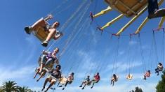 Midway Rides Sacramento County Fair