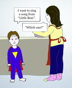 Dramatic Mom comic strip cell 3 by Natalie Buske Thomas