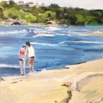 "Original Oil Painting-Scenes of Richmond: ""Wednesday Afternoon on Belle Isle"" Oil on Canvas, 24'x18"""