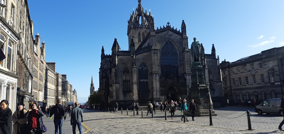 2 days in Edinburgh Scotland