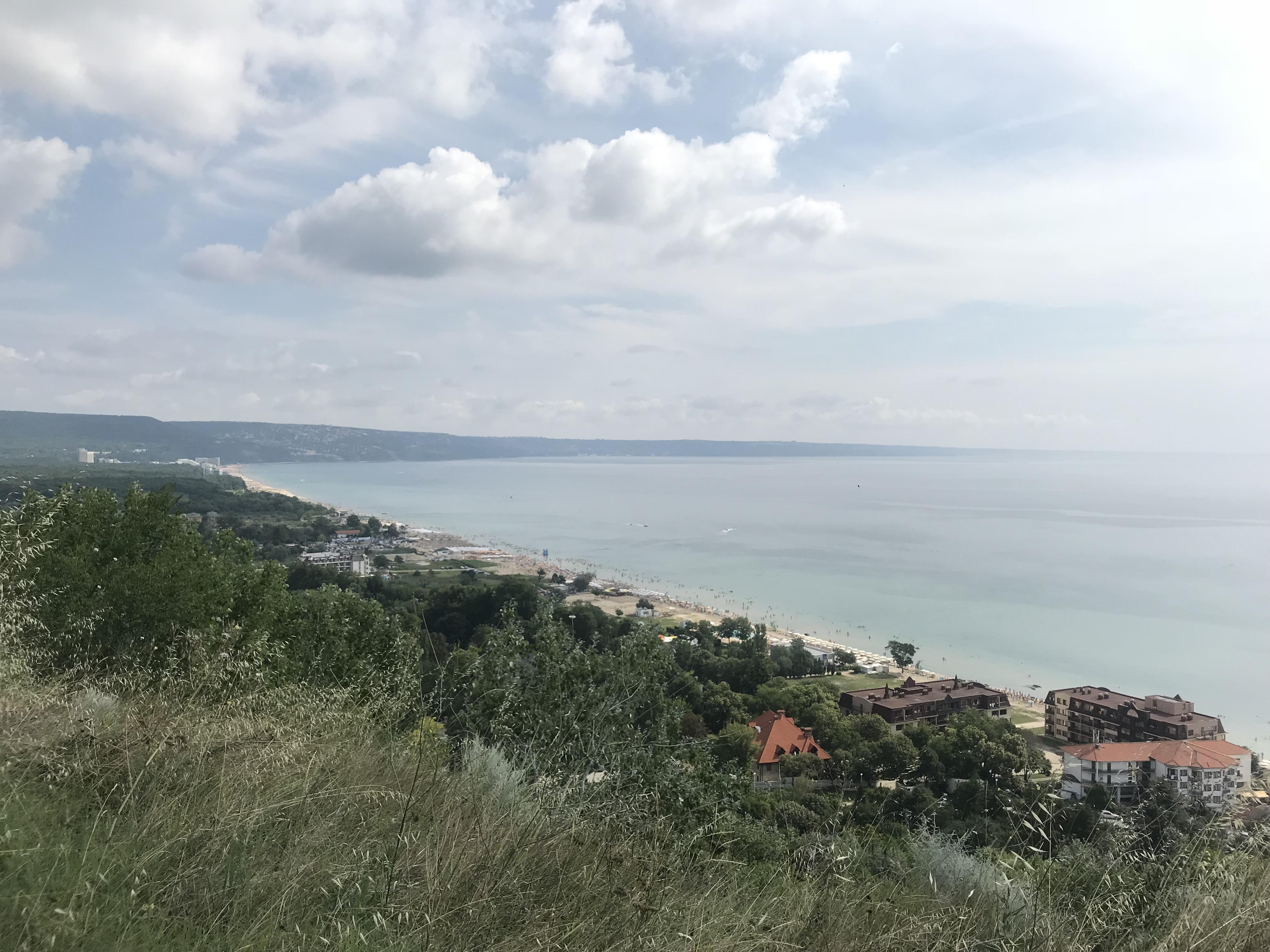 views of Bulgaria coastline on the jeep safari