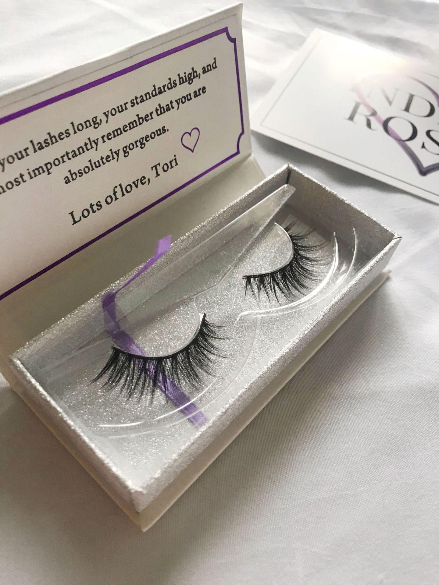 Indigo Rosee Beauty eye lash set 2