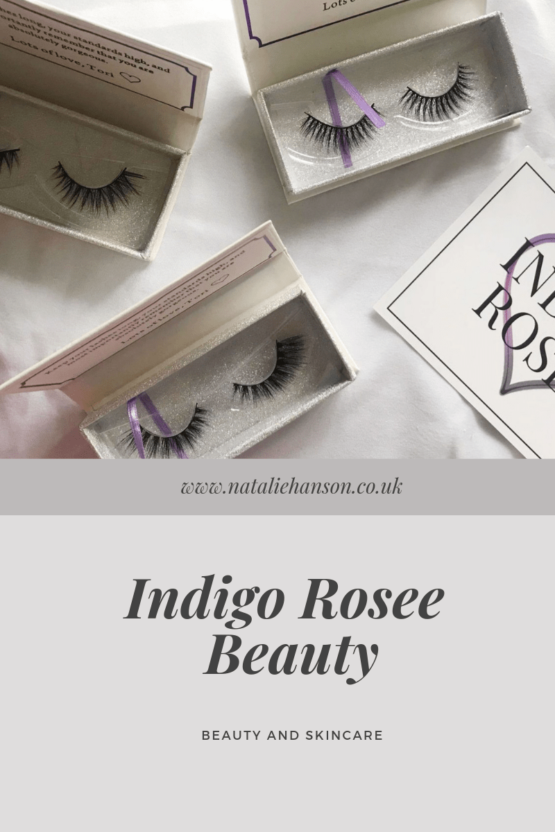 Indigo Rosee Beauty pinterest ad