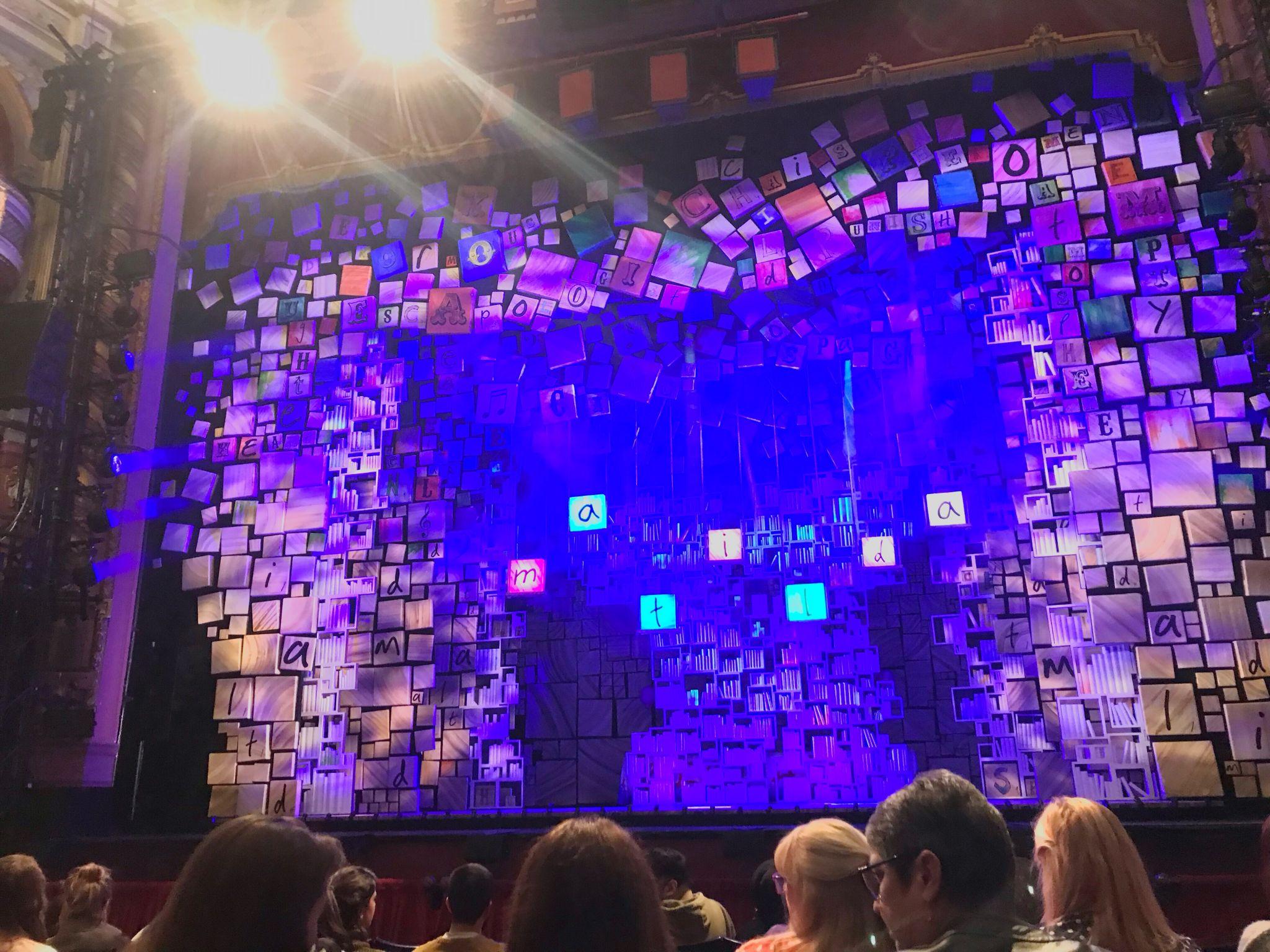 Matilda the Musical set design