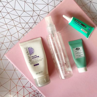 Product Empties: Serums and Spot Treatments