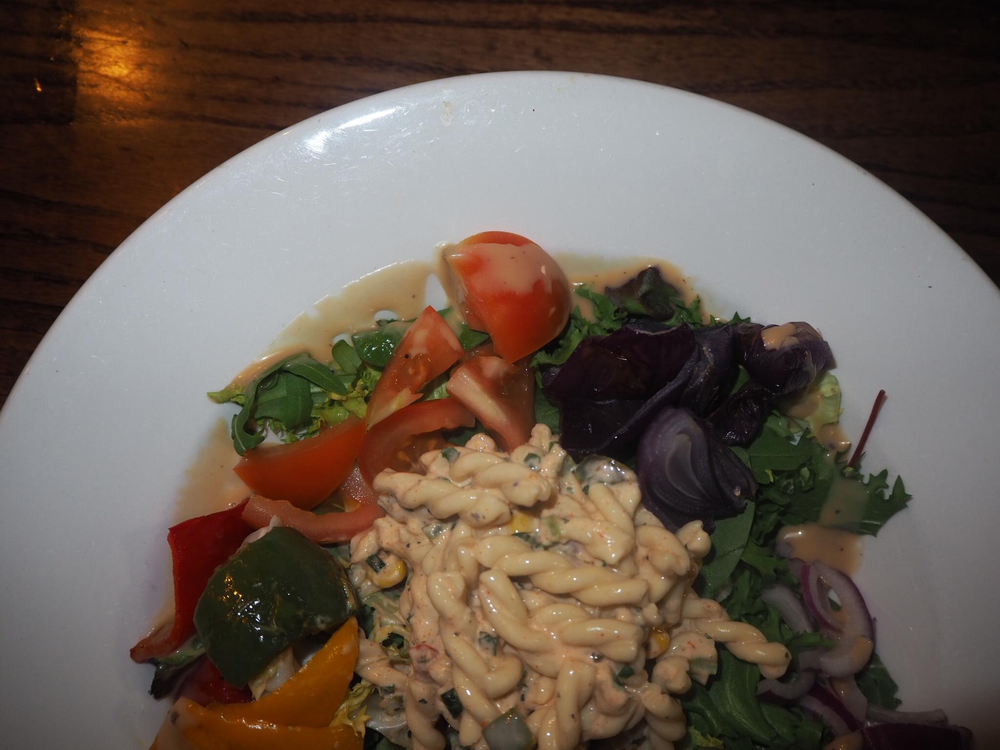 Summer Salad Bowl on the menu