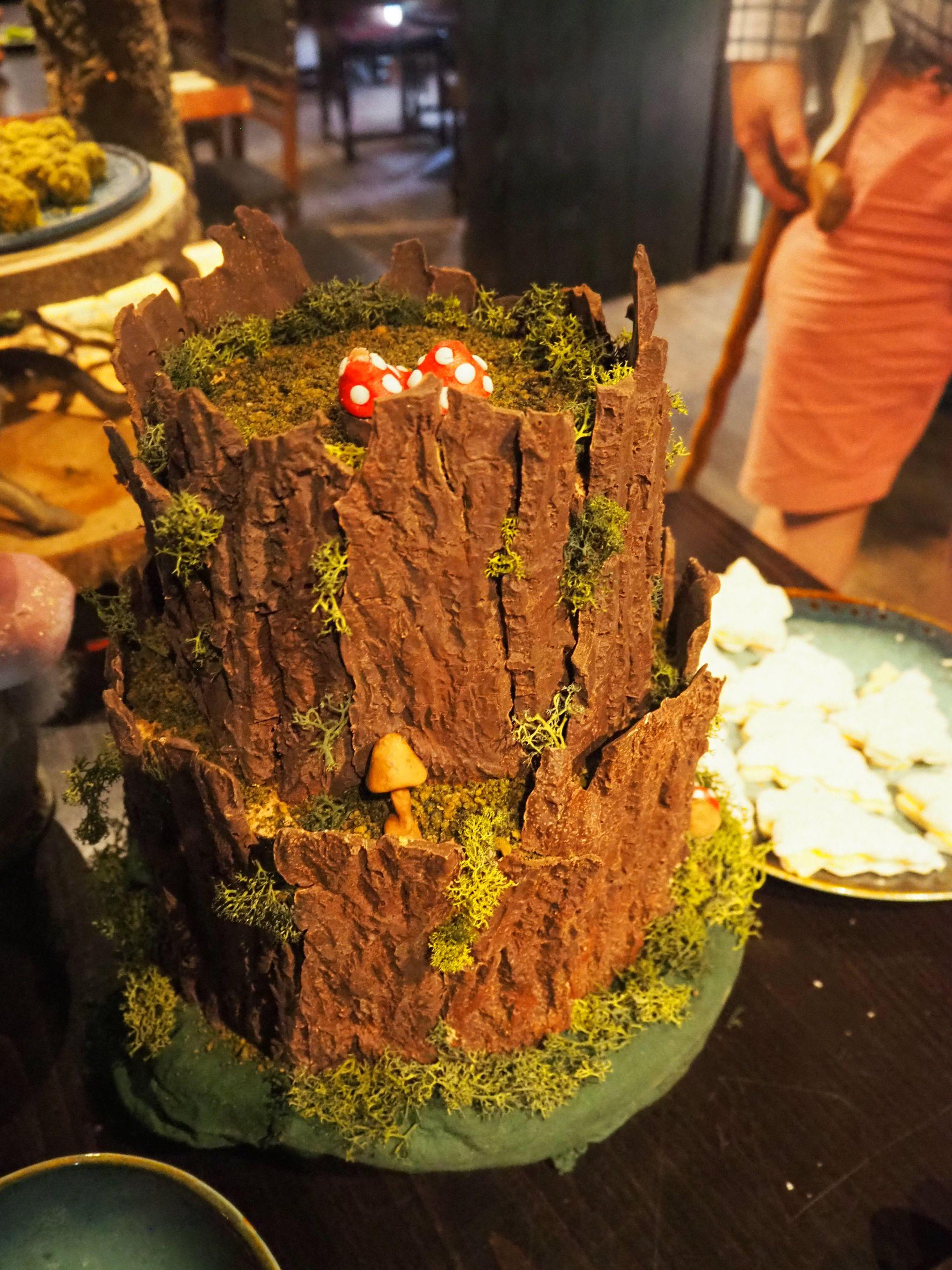 Fairy Woodland Cake