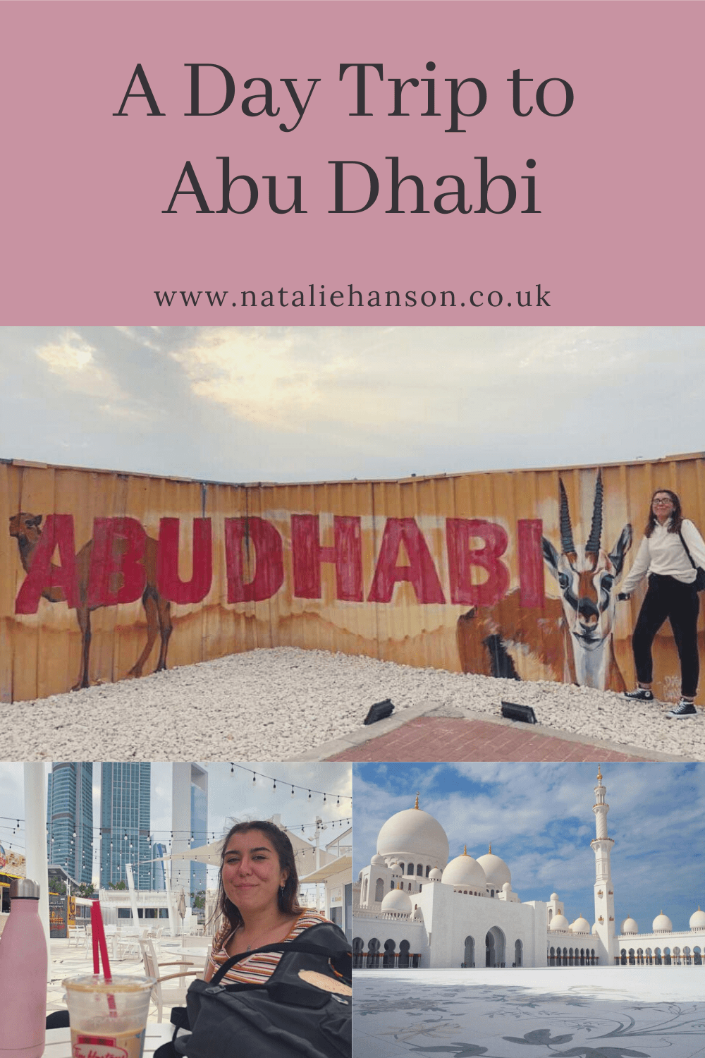 Pinterest Pin - Day Trip Abu Dhabi