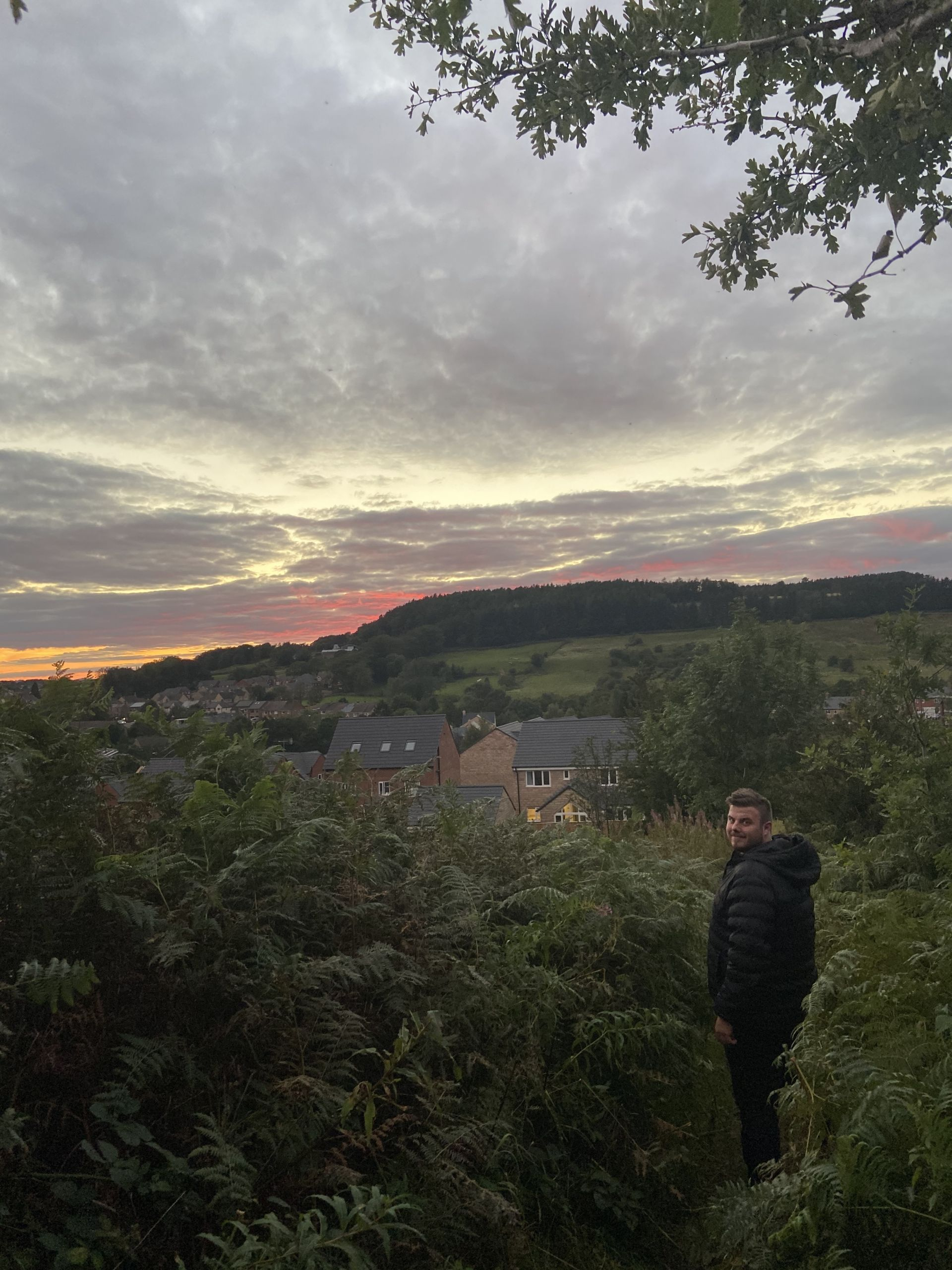 Sunset walk in Lumsdale in the Peak District