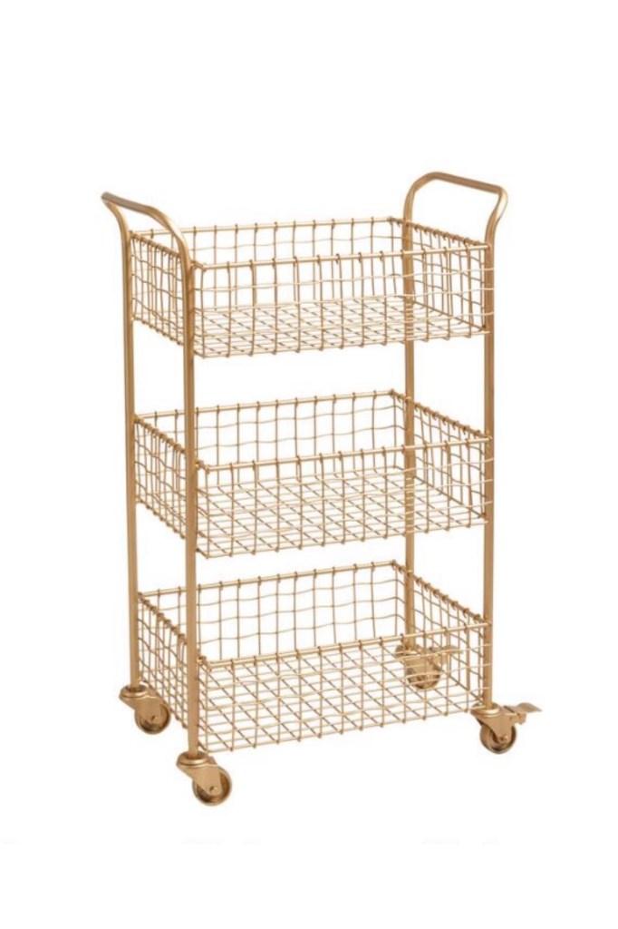Gold Nursing Cart Idea