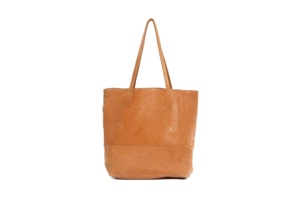 Third Wedding Anniversary Gift Ideas - Leather Tote Bag