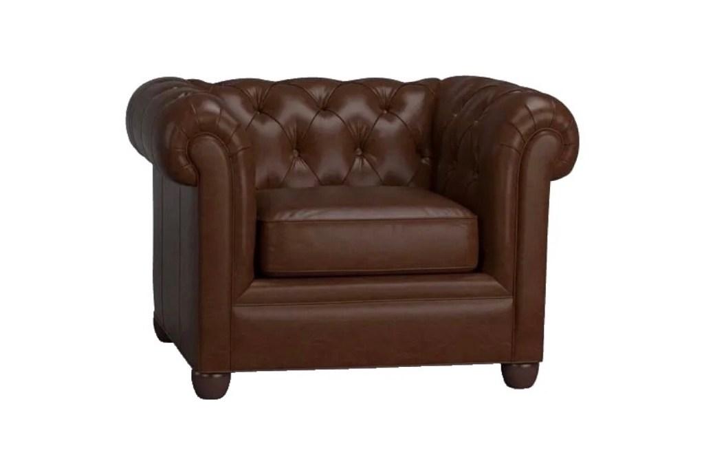 Third Wedding Anniversary Gift Ideas - Leather Armchair Furniture