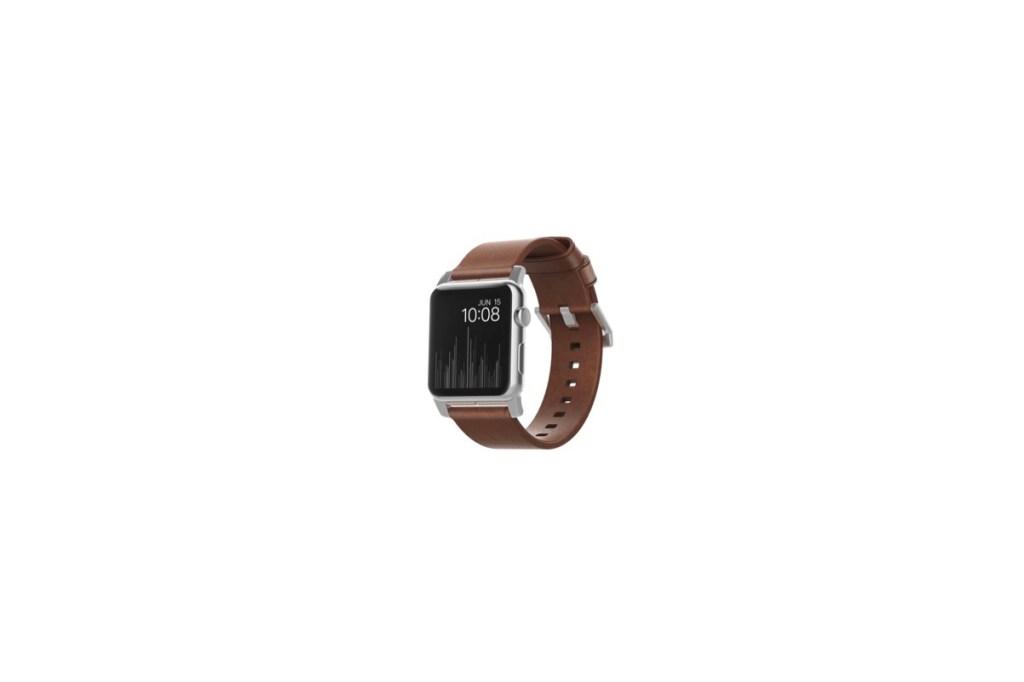 Third Wedding Anniversary Gift Ideas - AppleWatch Leather Wrist Strap