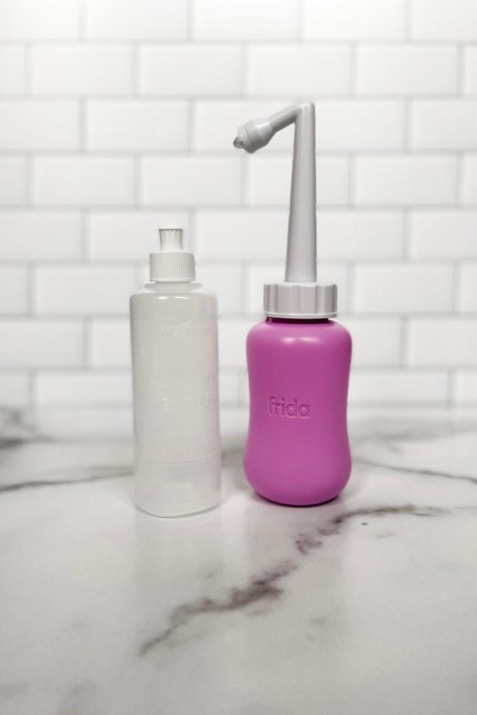 FridaMom Peri Bottle vs Hospital Peri Bottle