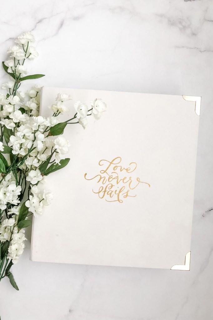 Wedding Planning Binder
