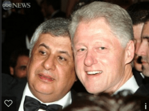 Chagoury and Clinton