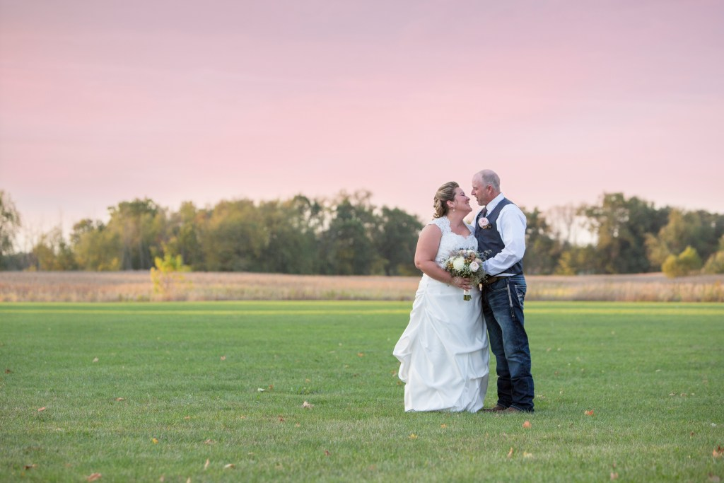 Victor Township Hall wedding Laingsburg