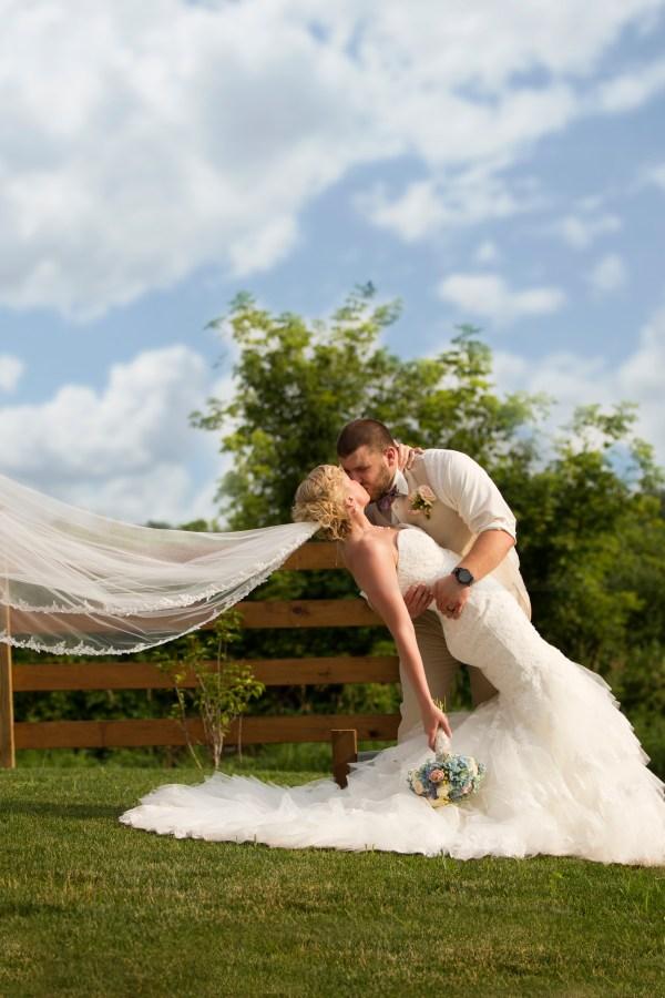 Michigan shabby chic wedding