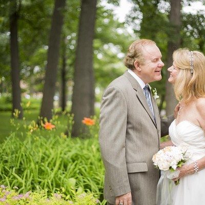 Looking into each other's eyes - Michigan Area Wedding photographer