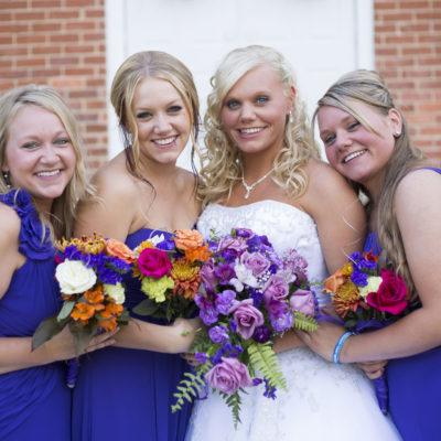 Ann Arbor bridesmaids