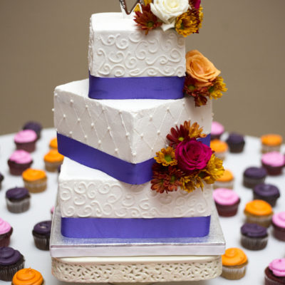 Ann Arbor wedding cake