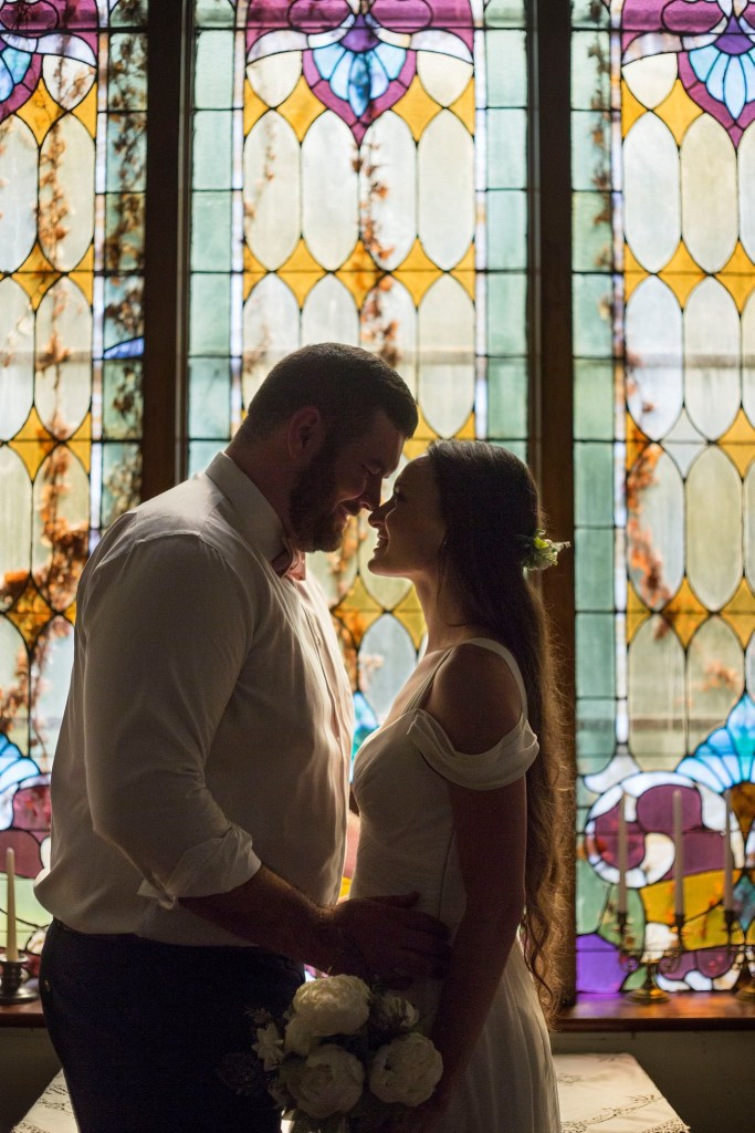 Celebrations wedding and event center stained glass