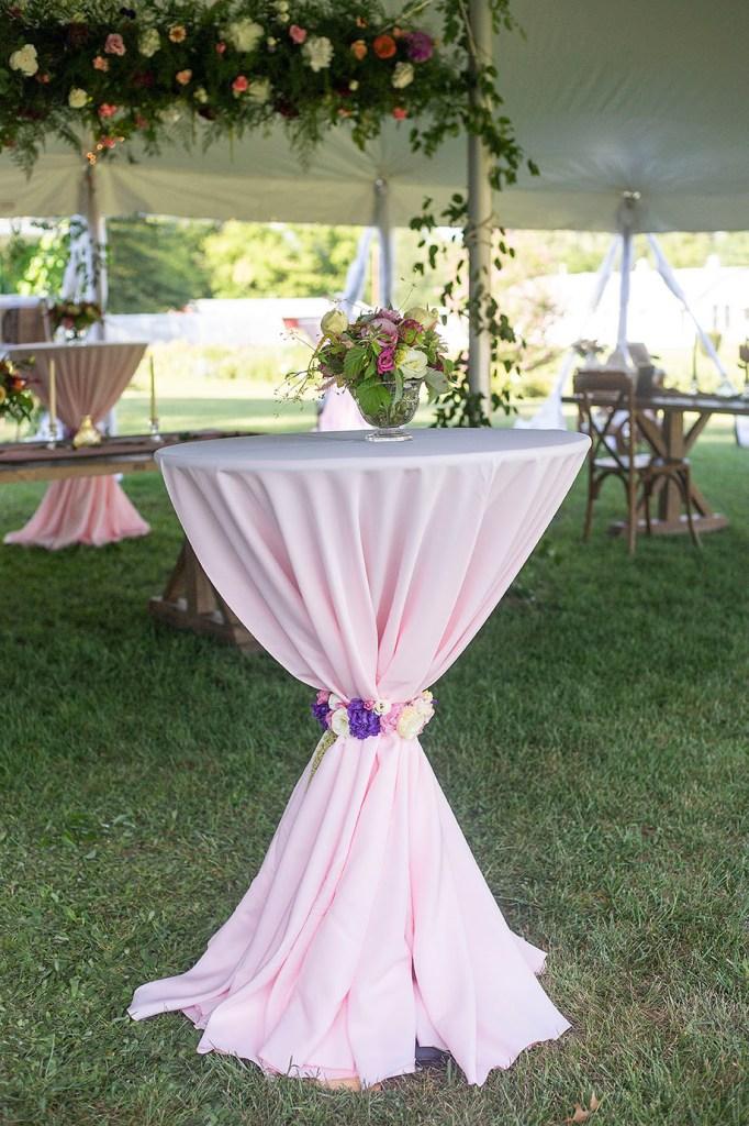 High top table decor