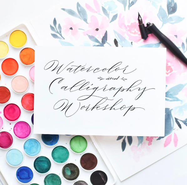 nataliemalan-melissa-esplin-watercolor-modern-calligrapy-workshop