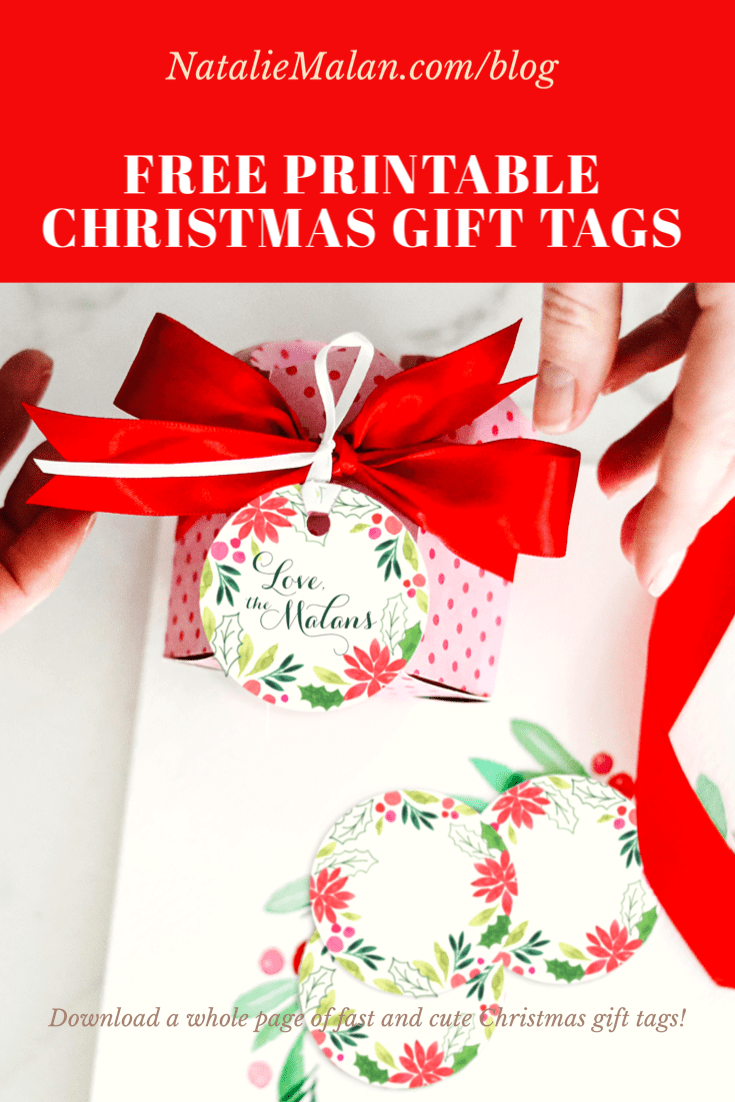 watercolor printable free gift tags christmas
