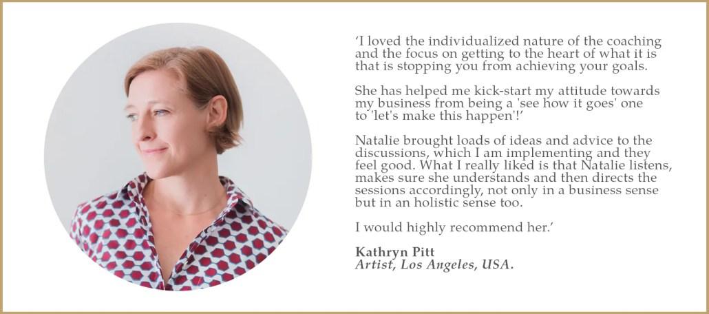 Testimonial kathryn pitt