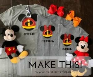 Personalized Spring Break Disney T-shirt Gift {Tutorial}
