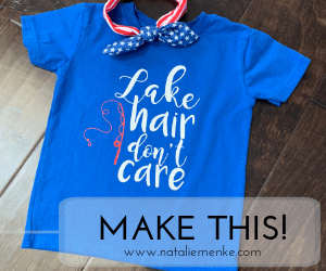 """Make a """"Lake Hair Don't Care"""" T-shirt in 6 Easy Steps"""