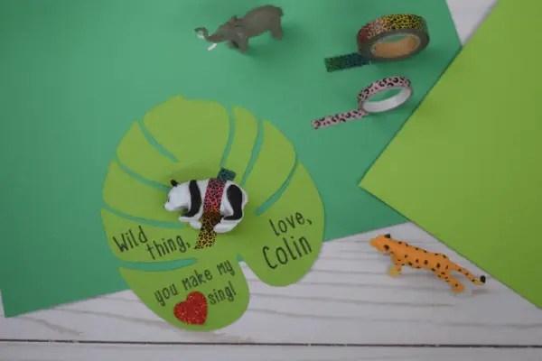 "DIY ""Wild Thing"" Valentines for Kids – Free Printable & Tutorial"