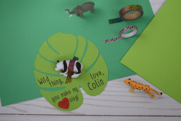 "DIY ""Wild Thing"" Valentines for Kids – Free Printable & Tutorial"