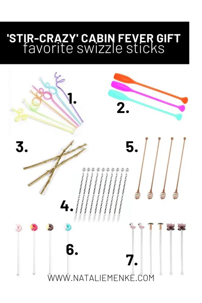 Swizzle stick and stirrer round-up
