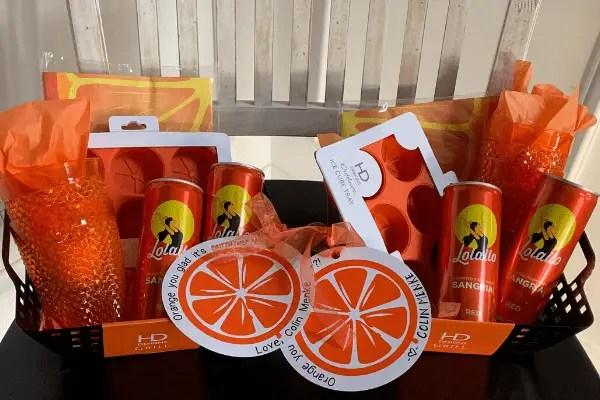 'Orange You Glad It's Summer?' Gift Basket & Free Gift Tag