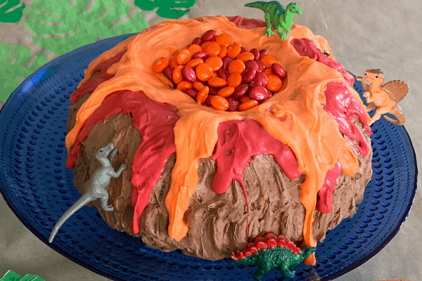 Throw an Epic Volcano Birthday Party (includes free tutorials)