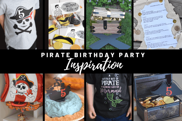 Pirate Birthday Party Inspiration: Pirate-themed Gifts & Free Printable