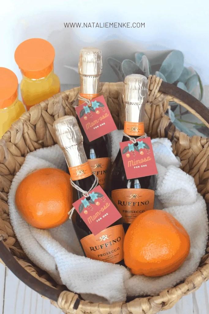basket of mimosas