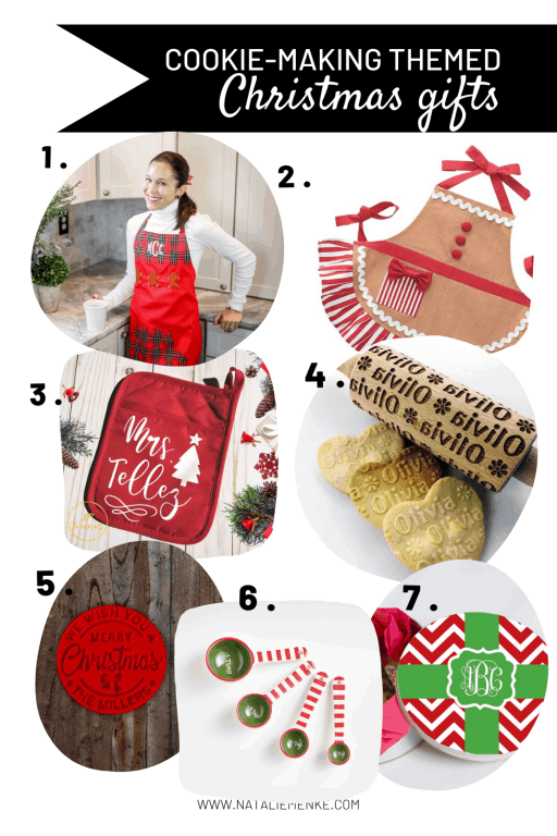 Cookie-making themed Christmas gifts