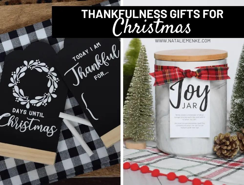Thankfulness gifts for Christmas