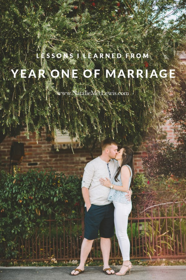 LessonsLearned1YearMarriage