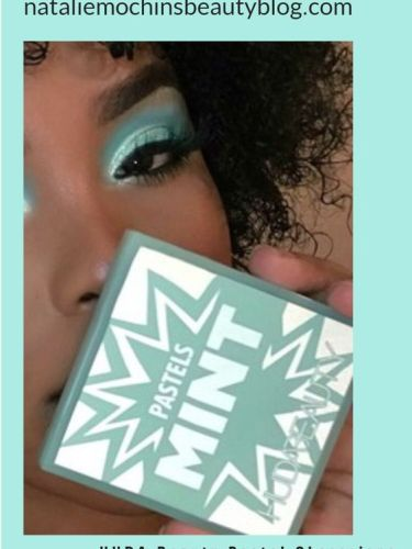 HUDA Beauty Mint Palette Swatches