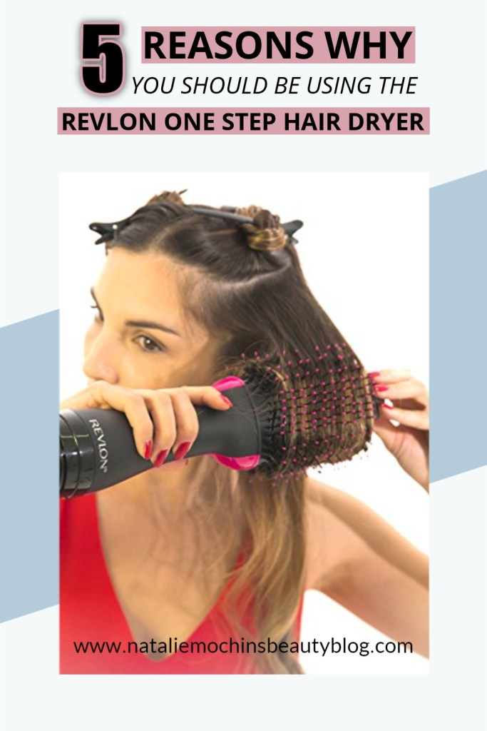 how to use revlon one step hair dryer