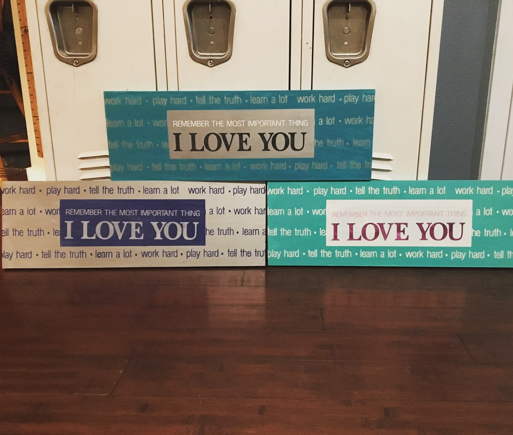 April 2017 Paint Night – Sign Painting Party