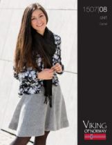 Skirt 1507-08 http://www.knittingpatternsgalore.com/skirt-1507-08-10926.html
