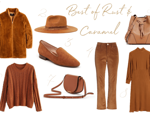 Natalie shares the season's best picks in one of her favorite fall colors - caramel.