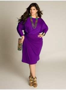 Purpurinė suknelė