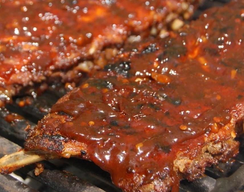 Italian inspired BBQ back ribs (recipe)