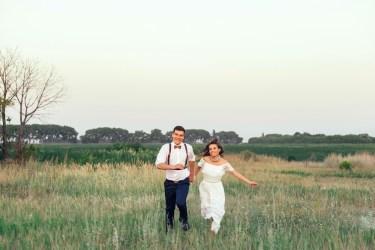 Свадьба в необычном месте